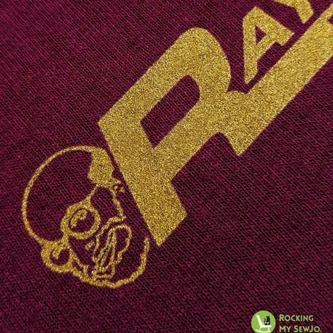 Ray Page Plumbing - Metallic Gold Ink