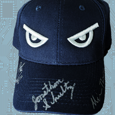 Battlebots Team Huge - Signed