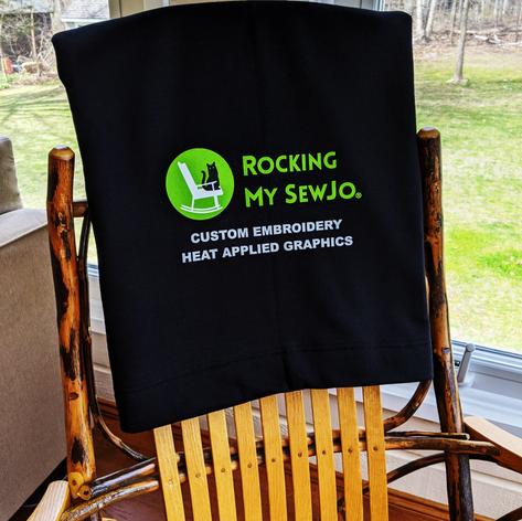 Sweatshirt Blanket with Heat Applied Graphic