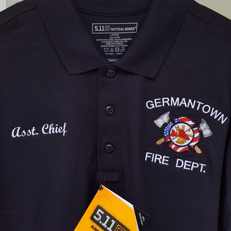 Fire Department Polos