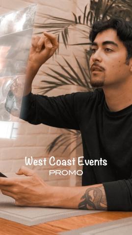 West Coast Events Promo