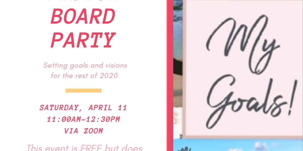 BAST Fitness Vision Board Party
