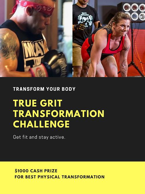 True Grit Transformation Challenge (4/5/20)
