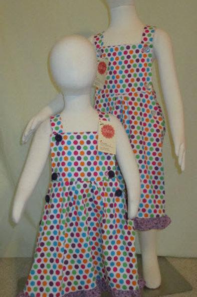 Bibbed Gumball Dress