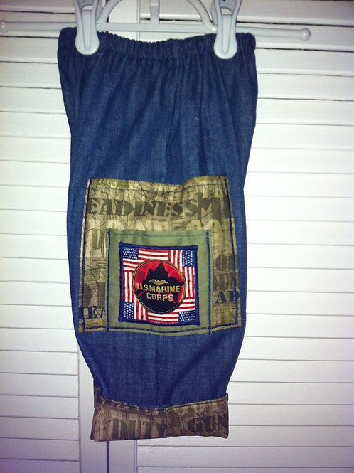 US Marine Cuffed Jeans
