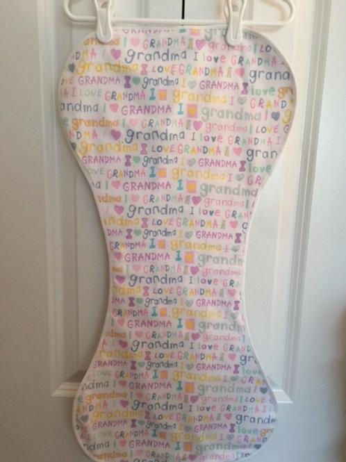 Grandma's Love Burp Cloth