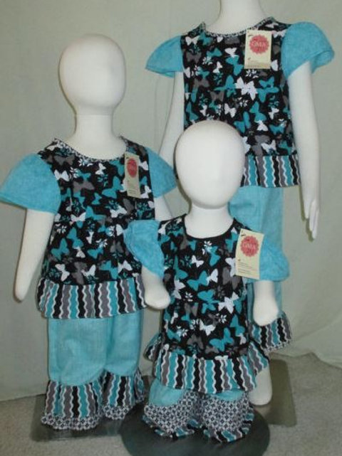 Butterfly Pant Set