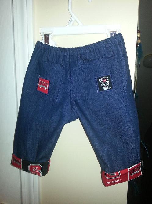 NC State Cuffed Jean