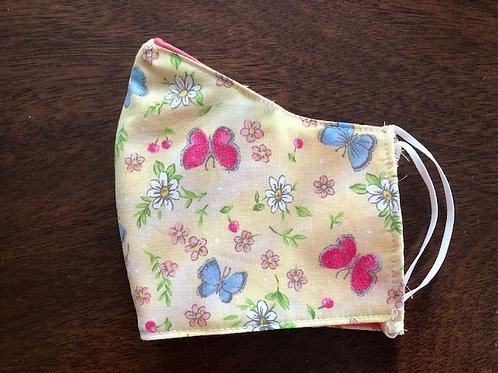 Pastel Butterflies - Adult Cup Size