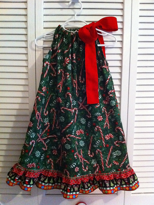 Candy Cane Holiday Dress