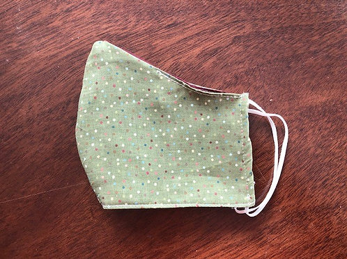 Green Dots - Adult Cup Size
