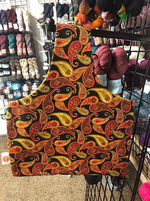 Autumn Paisleys - Lg Project Bag