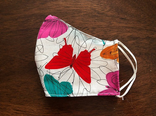 Colorful Butterflies - Adult Cup Size