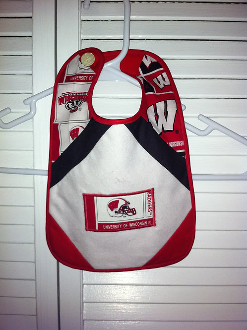 Wisconsin Badger Football Bib