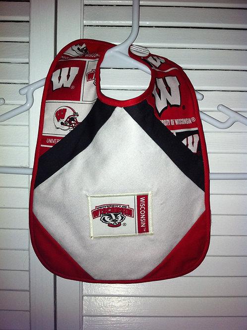 The Buckey Wisconsin Badger Bib