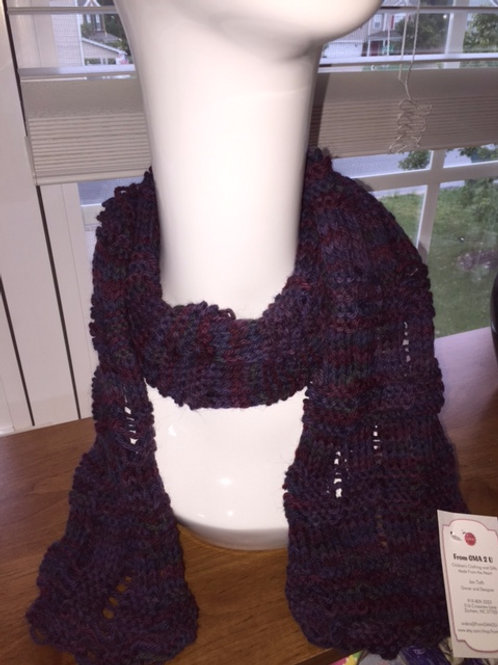 Fall Color Scarf