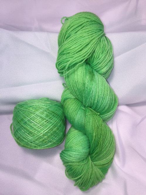 Easy Peasy Neon Sock Weight Hand Dyed Superwash Merino and Nylon