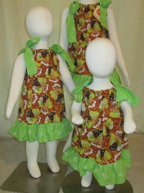 Neon Fall Pillow Case Dress