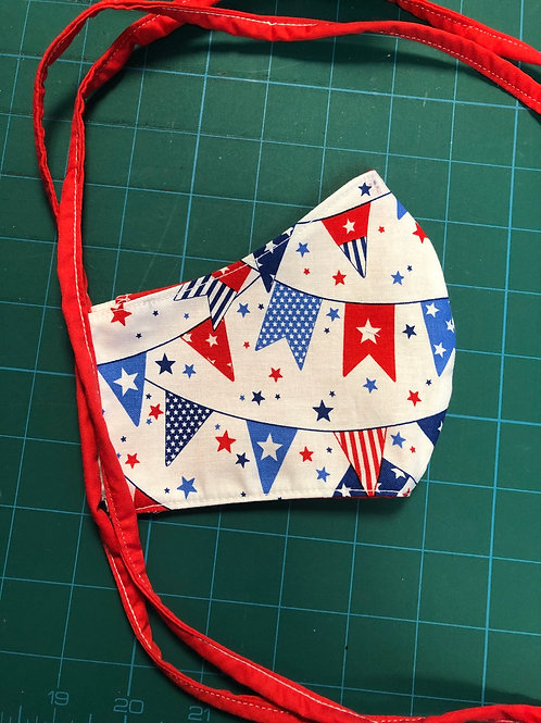 Patriotic Pennants - Adult Cup Style