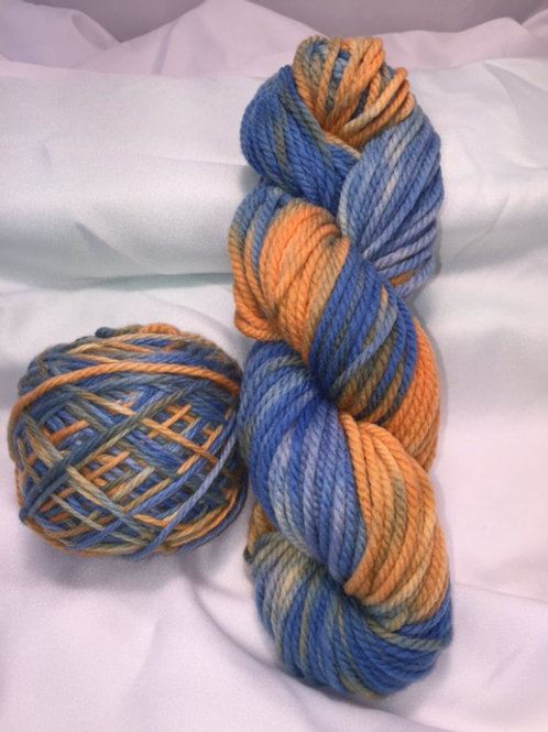 Gators Hand Dyed Super Wash Merino Bulky