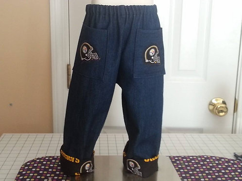 Pittsburgh Steelers Cuffed Jeans