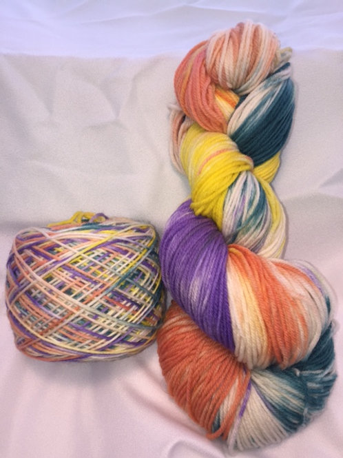 Tropical Heaven - DK Superwash Merino