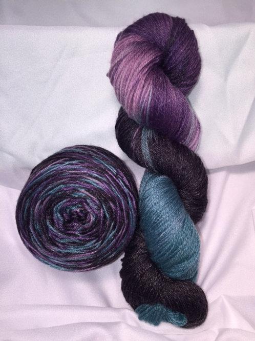 Tannatude Sock Weight Hand Dyed Superwash Merino and Nylon