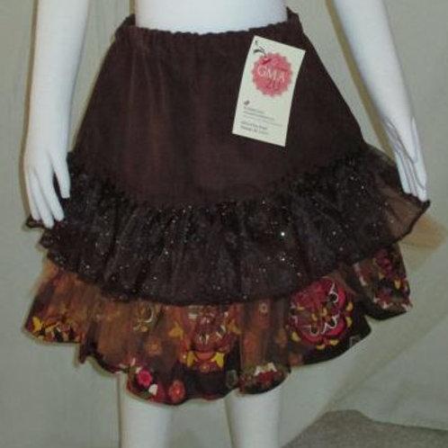 Autumn Ruffled Skirt
