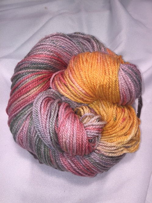 Stargazer - Worsted, Hand Dyed Merino/Silk Blend