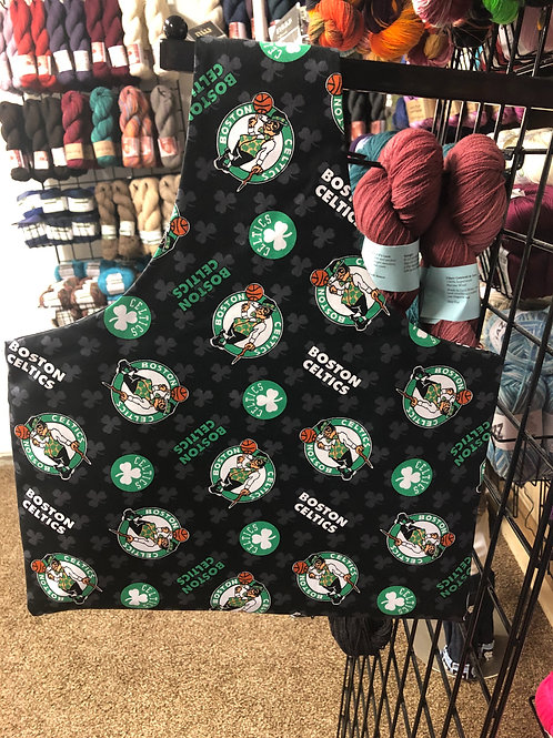 Boston Basketball - Lg Project Bag
