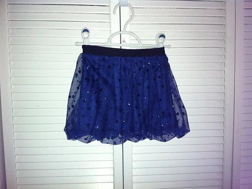 Holiday Blue Shimmer Skirt