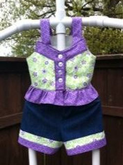 Lilac Short Set