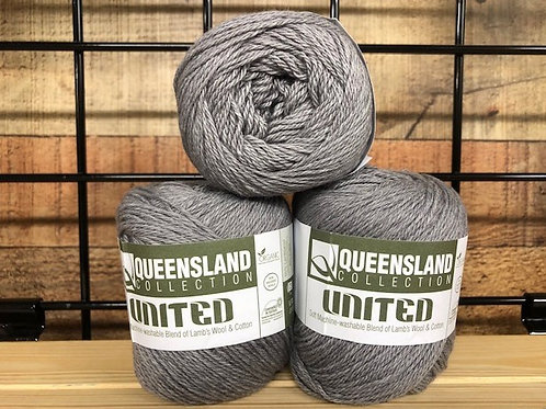 Queensland United Silver Gray