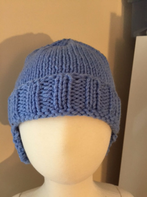 Blue Helmet Hat