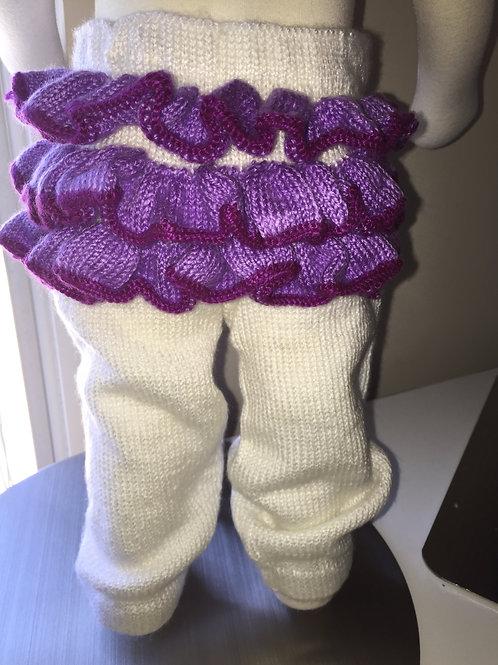 Precious Purple Ruffles