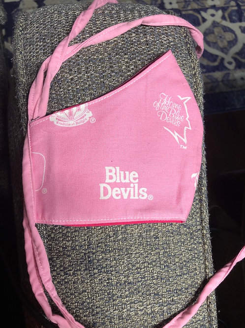 Blue Devils Pink Adult Cup Style