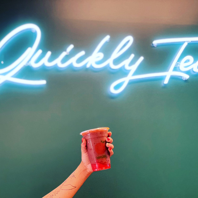 Welcome to Quickly Tea House