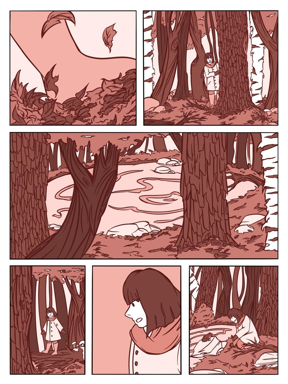Autumn Friends page 1