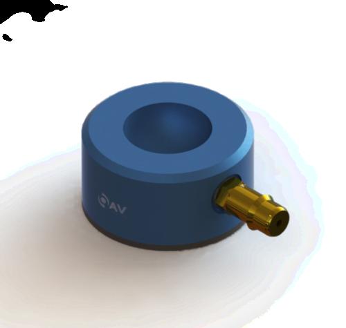 25mm Flat Round Air Bearing