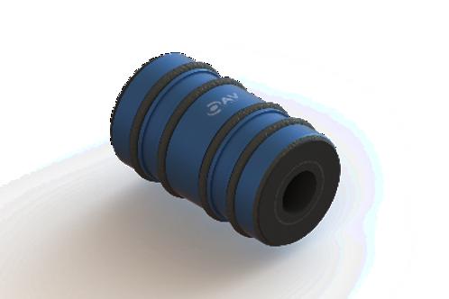 16mm x 4mm ID Thrust Air Bushing