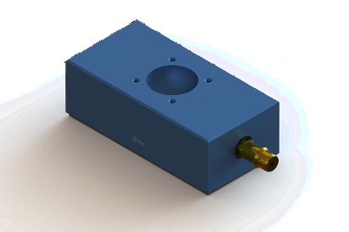 25mm x 50mm Flat Rectangular Air Bearing