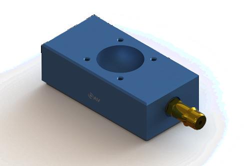 20mm x 40mm Flat Rectangular Air Bearing