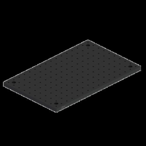 "Breadboard Solid Aluminum 10"" x 12"" x .500"" Thick"