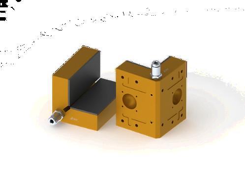38mm x 38mm x 50mm Modular Air Bearing