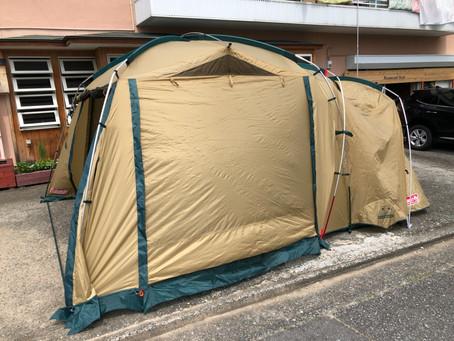 New テント