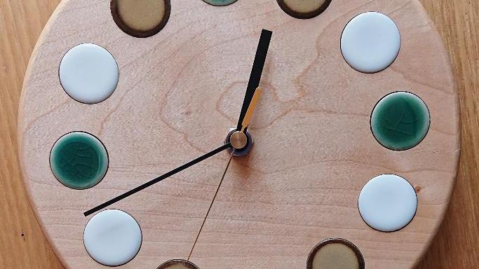 woodtile clock