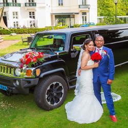 Bruiloft Jeandré & Nahiomis