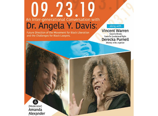 An Inter-Generational Conversation With Dr. Angela Y. Davis [Watch Video]