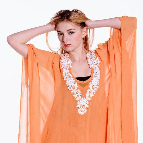 BaublesNbloom kaftan Style/Embroidery Maxi caftan/bohemian Long Summer Dress