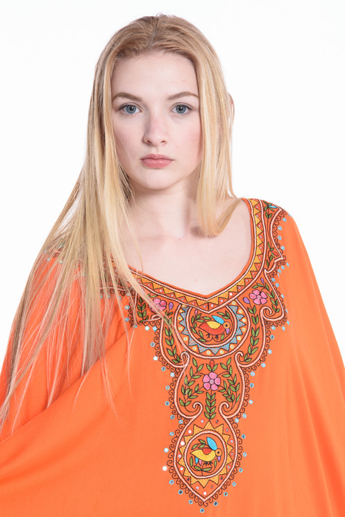 ff72c87427 Try our signature embroidered kaftans in comfy rayon. The fabric is soft  and breathable